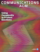 CACM Cover November 2010