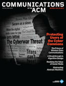 CACM Cover September 2011