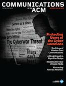 CACM Cover September 2011