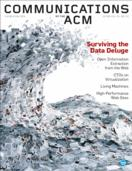 CACM Cover December 2008