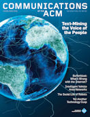 CACM Cover February 2012